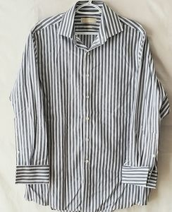NWOT Michael Kors Striped Button Down Dress Shirt